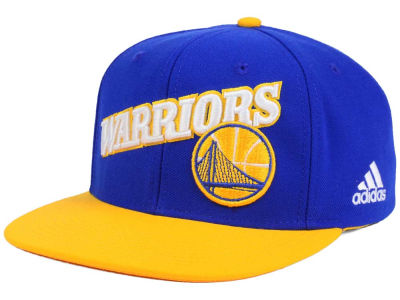 Golden State Warriors adidas NBA Stretch Jersey Snapback Cap