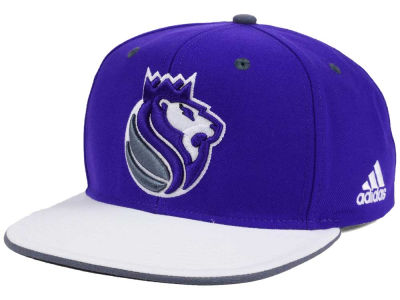 Sacramento Kings adidas NBA Stretch Jersey Snapback Cap