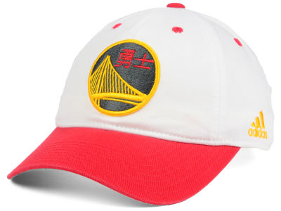 Golden State Warriors adidas NBA Pride Jersey Slouch Cap