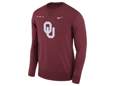 Oklahoma Sooners Nike NCAA Men's Therma-Fit Crew Sweatshirt