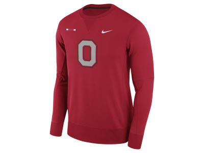 Ohio State Buckeyes Nike NCAA Men's Therma-Fit Crew Sweatshirt