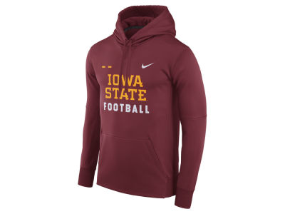 Iowa State Cyclones Nike NCAA Men's Therma-Fit Football Hoodie