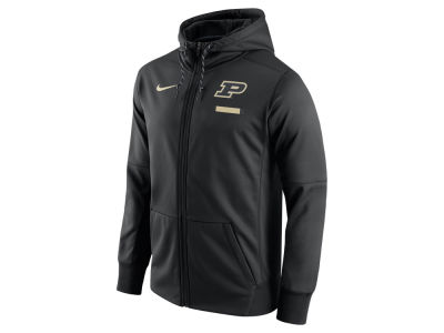 Purdue Boilermakers Nike NCAA Men's Therma Fit Sideline Full Zip Hood