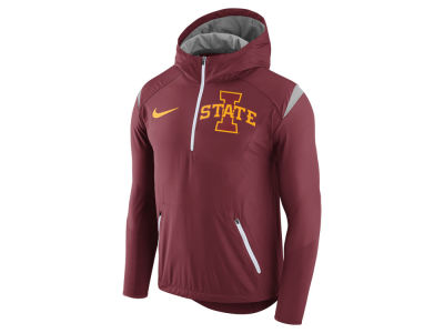 Iowa State Cyclones Nike NCAA Men's Fly-Rush Hooded Quarter Zip