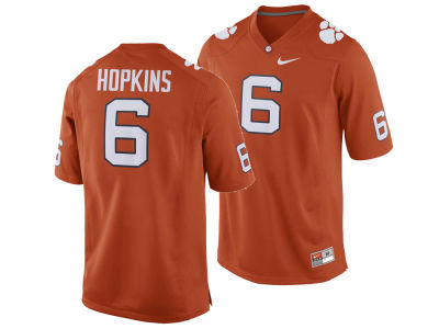 Clemson Tigers DeAndre Hopkins Nike NCAA Men's Player Game Jersey