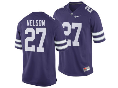 Kansas State Wildcats Jordy Nelson Nike NCAA Men's Player Game Jersey