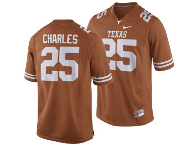 Texas Longhorns Jamaal Charles Nike NCAA Men's Player Game Jersey