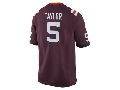 Virginia Tech Hokies Tyrod Taylor Nike NCAA Men's Player Game Jersey