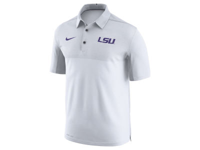 LSU Tigers Nike NCAA Men's Elite Coaches Polo