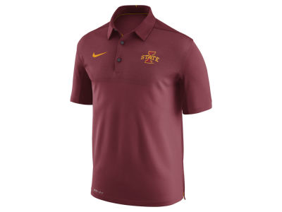 Iowa State Cyclones Nike NCAA Men's Elite Coaches Polo