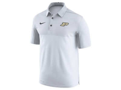 Purdue Boilermakers Nike NCAA Men's Elite Coaches Polo