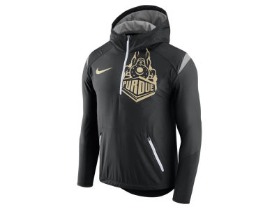 Purdue Boilermakers Nike NCAA Men's Fly-Rush Hooded Quarter Zip