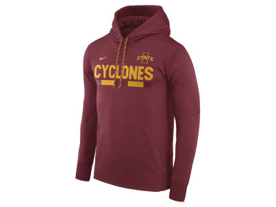 Iowa State Cyclones Nike NCAA Men's Therma-Fit Sideline Hoodie