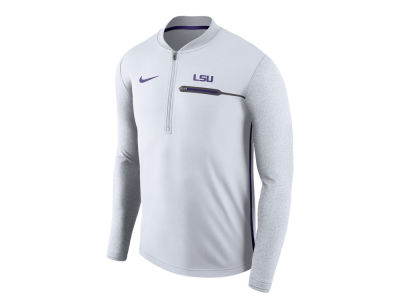 LSU Tigers Nike NCAA Men's Coaches Quarter Zip