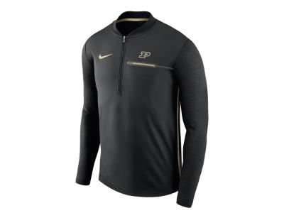 Purdue Boilermakers Nike NCAA Men's Coaches Quarter Zip