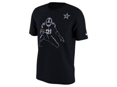 Dallas Cowboys Ezekiel  Elliott Nike NFL Men's Player Silhouette Pack T-Shirt