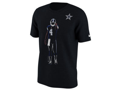 Dallas Cowboys Dak Prescott Nike NFL Men's Player Silhouette Pack T-Shirt