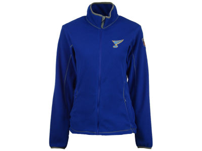 St. Louis Blues Antigua NHL 2017 Women's Winter Classic Full Zip Ice Jacket
