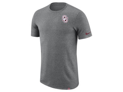 Oklahoma Sooners Nike NCAA Men's Marled Patch T-Shirt