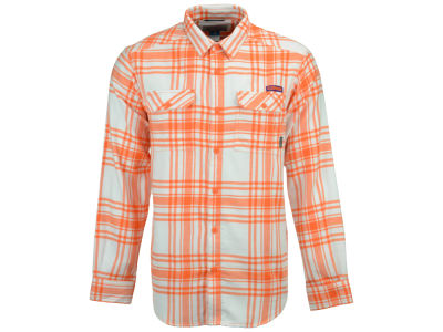 Clemson Tigers Columbia NCAA Men's Flare Gun Flannel Long Sleeve Shirt
