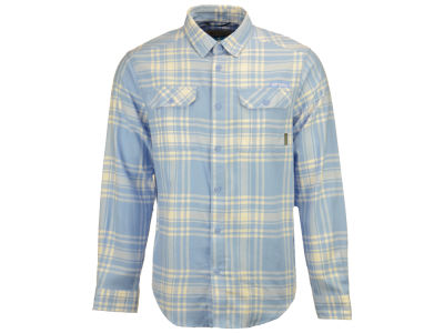 North Carolina Tar Heels Columbia NCAA Men's Flare Gun Flannel Long Sleeve Shirt