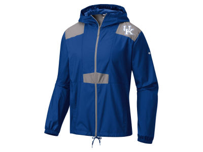 Kentucky Wildcats Columbia NCAA Men's Flashback Windbreaker Jacket
