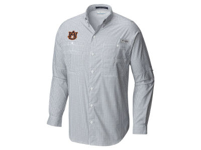 Auburn Tigers Columbia NCAA Men's Super Tamiami Long Sleeve Shirt