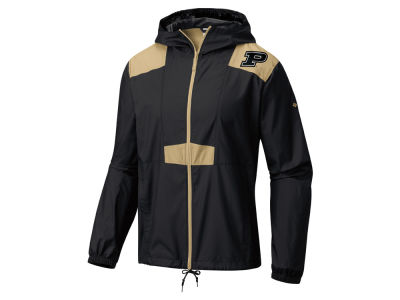 Purdue Boilermakers Columbia NCAA Men's Flashback Windbreaker Jacket