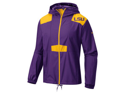 LSU Tigers Columbia NCAA Men's Flashback Windbreaker Jacket
