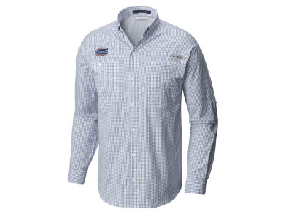 Florida Gators Columbia NCAA Men's Super Tamiami Long Sleeve Shirt