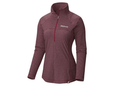 Oklahoma Sooners Columbia NCAA Women's Layer First Quarter Zip