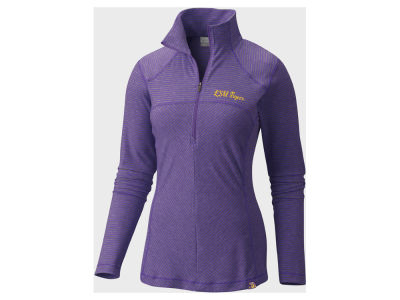 LSU Tigers Columbia NCAA Women's Layer First Quarter Zip
