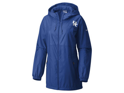 Kentucky Wildcats Columbia NCAA Women's Flashback Long Windbreaker Jacket