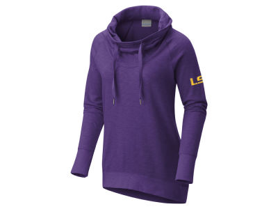 LSU Tigers Columbia NCAA Women's Down Time Hooded Tunic