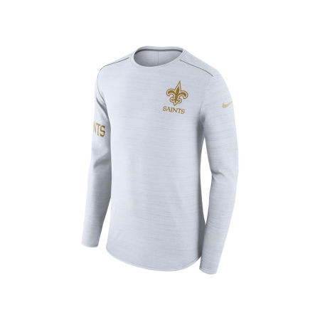 New Orleans Saints Nike NFL Men's Color Rush Player Top Long Sleeve T-shirt