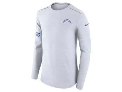 Los Angeles Chargers Nike NFL Men's Color Rush Player Top Long Sleeve T-shirt