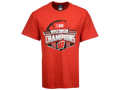 Wisconsin Badgers NCAA Men's Big Ten West Division Champ T-Shirt