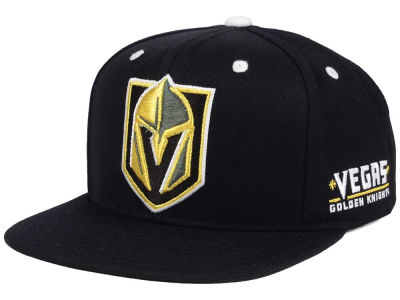 Vegas Golden Knights adidas NHL Staple Snapback Cap