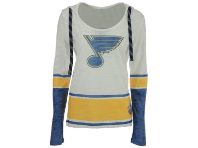 St. Louis Blues NHL Womens Winter Classic Skate Lace Lucy Shirt