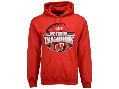 Wisconsin Badgers Blue 84 NCAA Men's Big 10 West Division Champ Hoodie