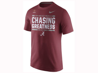 Alabama Crimson Tide Nike 2017 NCAA Men's College Football Playoff Bound Verbiage T-Shirt