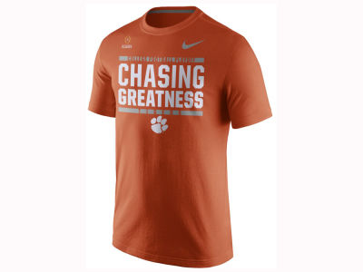Clemson Tigers Nike 2017 NCAA Men's College Football Playoff Bound Verbiage T-Shirt