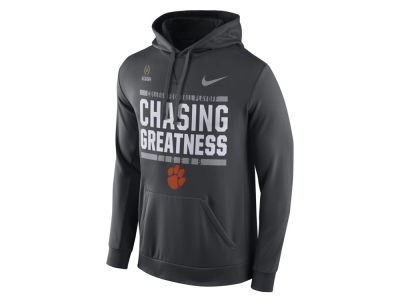Clemson Tigers Nike 2017 NCAA Men's College Football Playoff Bound Verbiage Hooded Sweatshirt