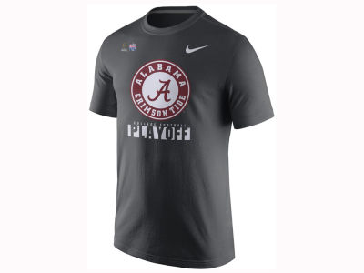 Alabama Crimson Tide Nike 2017 NCAA Men's College Football Playoff Legend Logo T-Shirt