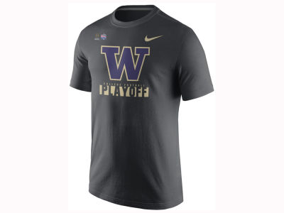Washington Huskies Nike 2017 NCAA Men's College Football Playoff Legend Logo T-Shirt