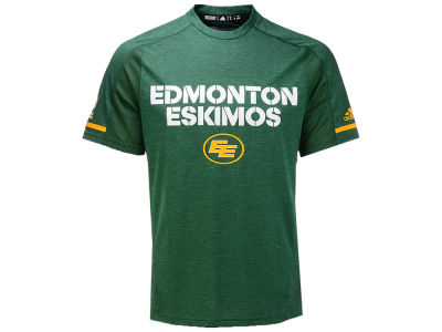Edmonton Eskimos adidas CFL Men's Training T-Shirt