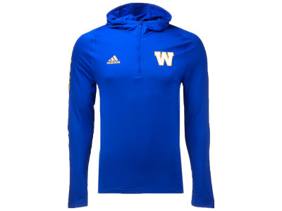 Winnipeg Blue Bombers adidas CFL Men's Training Hood
