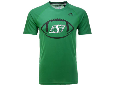 Saskatchewan Roughriders adidas CFL Men's Pigskin T-Shirt