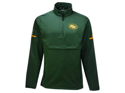 Edmonton Eskimos adidas CFL Men's Long Sleeve Quarter Zip Woven Jacket
