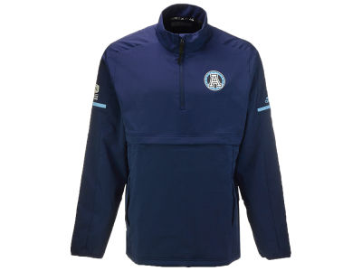 Toronto Argonauts adidas CFL Men's Long Sleeve Quarter Zip Woven Jacket
